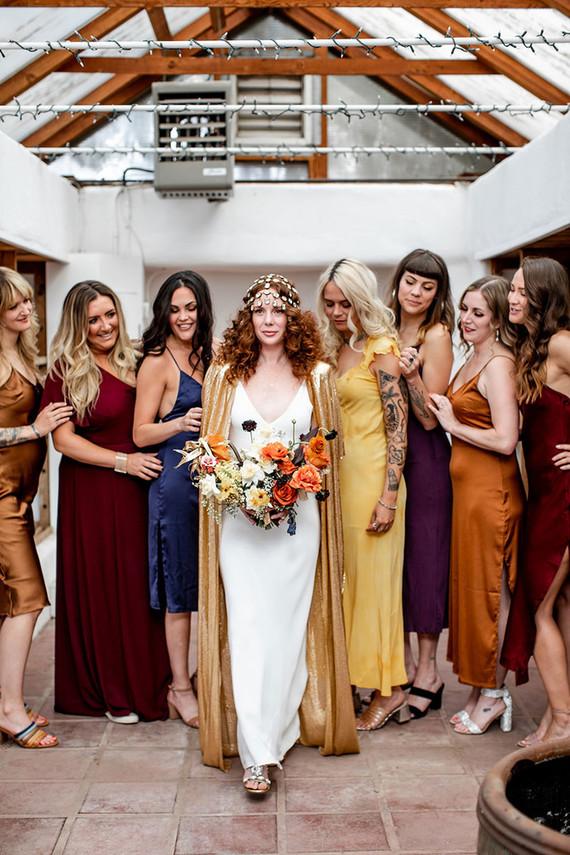 New Mexico bridesmaids