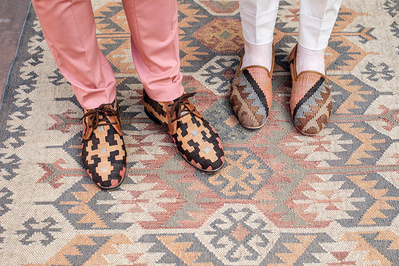 New Mexico wedding shoes