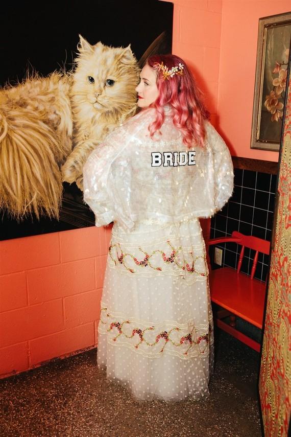 indie bridal fashion