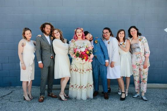 Los Angeles Smog Shoppe wedding