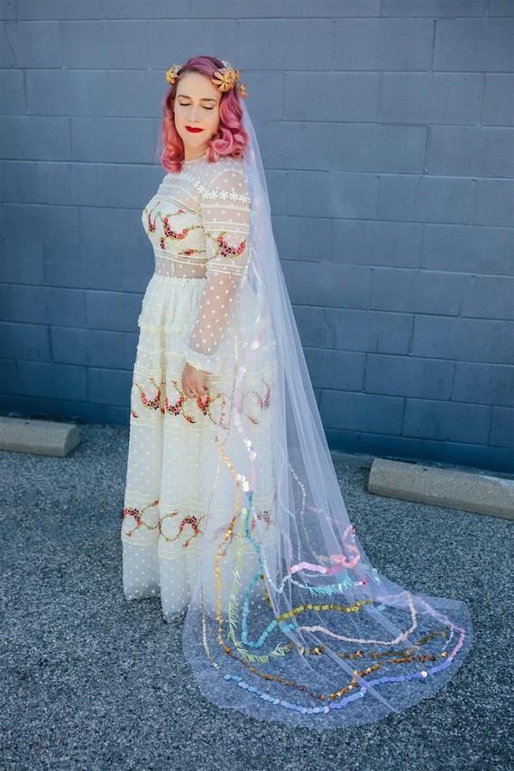 indie bridal gown