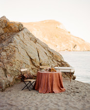 Bohemian beach elopement