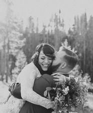 Colorado wedding portrait