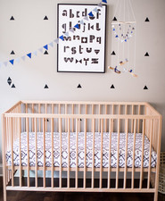 black and white boys nursery