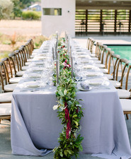 Harvest dinner party tablescape