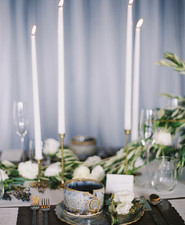 Winter Blue Wedding Inspiration Elegant Wedding 100