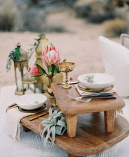 Desert boho wedding ideas