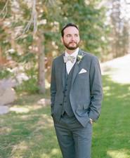 Grey groomsmen suite