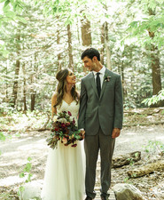 Autumn Maine wedding