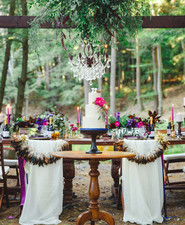 Bohemian jewel toned wedding inspiration