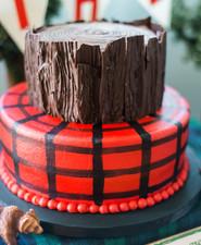 Lumberjack birthday party
