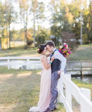 Colorful bohemian fall wedding inspiration