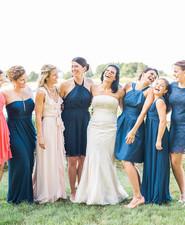 Bridesmaid portait