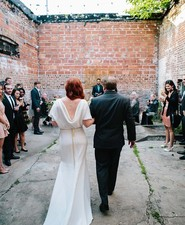 Industrial outdoor ceremony