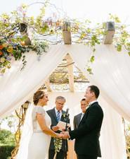 Spanish style wedding ceremony
