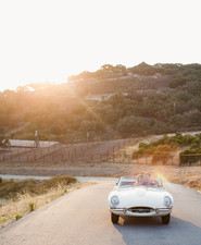 Getaway car portrait
