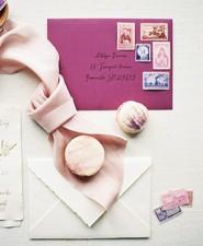 purple baby shower invites