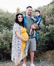 Newport Beach back bay maternity photos