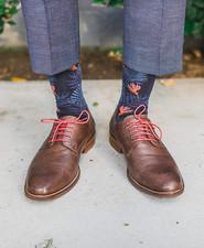 Fun grooms socks