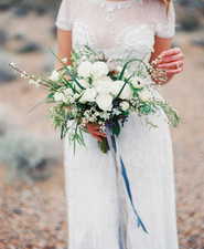 Desert and indigo wedding inspiration