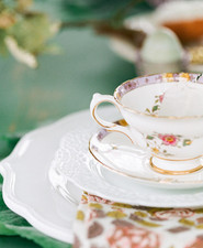 Spring tea party for little girls