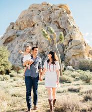 Joshua Tree family photos