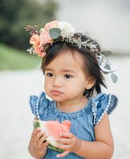 Mother-daughter photos in Hawaii