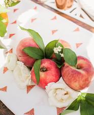 Peach Mother's Day brunch