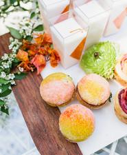 peach mother's day desserts