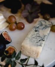 Modern cheese platter