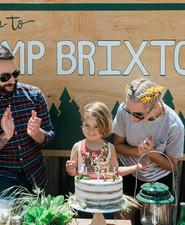 Vintage camp birthday party