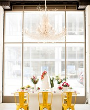 Modern southwest inspired wedding inspiration