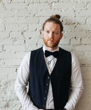 Modern groom fashion