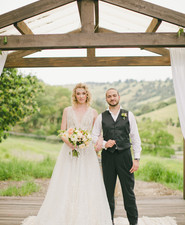 Rustic California ranch wedding