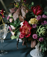 Moody fall wedding inspiration