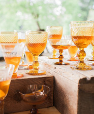 amber barware