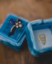 Blue Mrs. Box