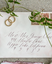 romantic calligraphy