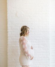 simple maternity photos