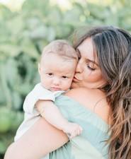 mama and baby portraits