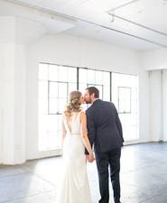 Modern loft wedding