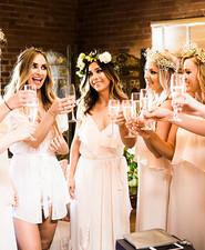 Bohemian wedding at Carondelet House