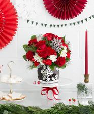 Teleflora holiday arrangement