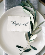Simple place setting ideas