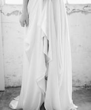 Modern Sarah Seven wedding dress