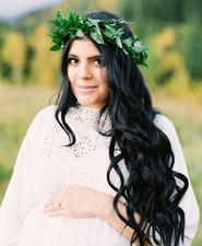 Calgary Mountain maternity photos