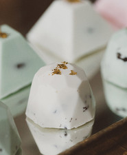 Modern wedding dessert