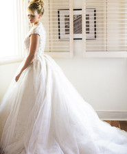 Ines Di Santo wedding dress