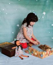 Woodland animals and kidswear from Hazel Village