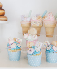 Pastel bakery 1st birthday party